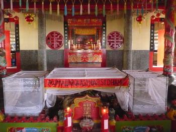 Makam Tan Boen An dan Siti Fatimah ; bersandingan
