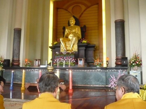 Persiapan Magha Puja di Vihara Watugong