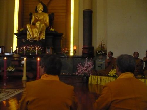 Upacara Peringatan Magha Puja, bentuk ketaatan ummat Beragama ( Buddha )