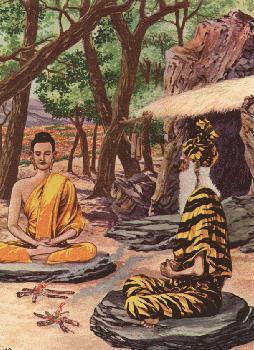Boddhisatta belajar pada Alara Kalama