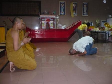 Ratana Kumaro didepan Sangha Agung Indonesia