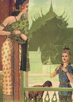 Pangeran Siddhatta memberikan kalung permata pada Kissa Gotami