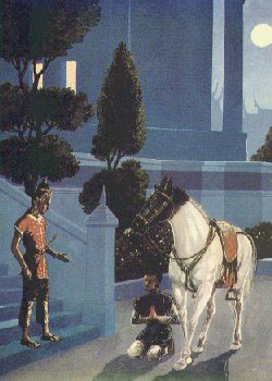 Channa Kusir Istana mempersiapkan Kuda Khantaka