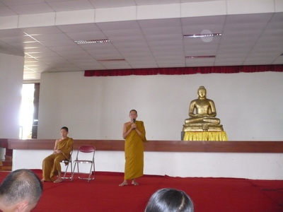 Padesa Nayaka B.Cattamano menutup acara