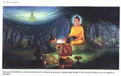 Tapussa & Bhallika ; 2 Pedagang Ummat Pertama