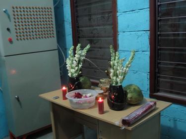meja puja untuk Upacara