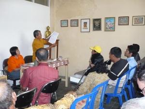 Romo Sugiyanto menerangkan tentang Surat Keterangan Nikah dari Magabudhi